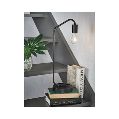 """Covybend Metal Desk Lamp - 7""""W x 6""""D x 21""""H"""