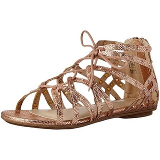 Kids Kenneth Cole Reaction Girls ghillie Zipper Gladiator Sandals
