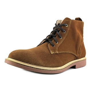 Independent Boot Company Deacon Men  Round Toe Suede Tan Chukka Boot