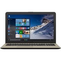 "ASUS R540NA 15.6"" WLED Laptop with Intel Celeron N3350 4GB 500GB HDD Win 10"