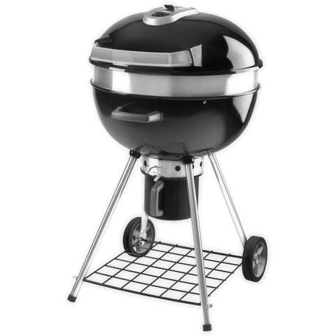 "Napoleon PRO22-LEG-2 Rodeo Pro 45"" Diameter Charcoal Free Standing Grill with Legged Stand - Black"