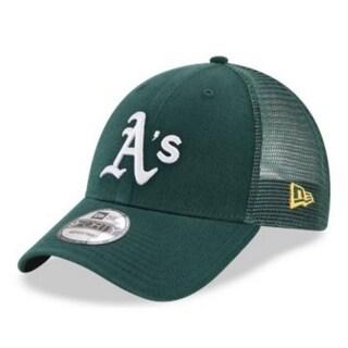 New Era MLB Oakland Athletics Baseball Hat Cap 940 Trucker Snapback 11591197