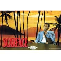 ''Scarface, Sunset'' by Anon Movie & TV Posters Art Print (16 x 20 in.)