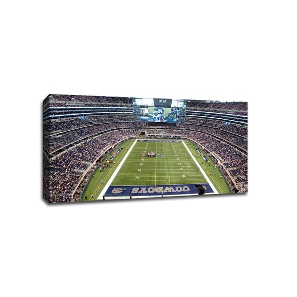 Dallas - NFL - 40x22 Gallery Wrapped Canvas Wall Art