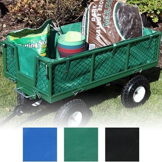Sunnydaze Heavy Duty Dumping Utility Cart Liner ONLY - Options