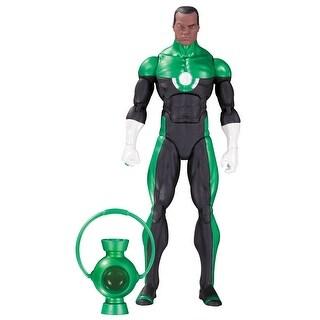 DC Comics Icons: Green Lantern John Stewart Action Figure - multi