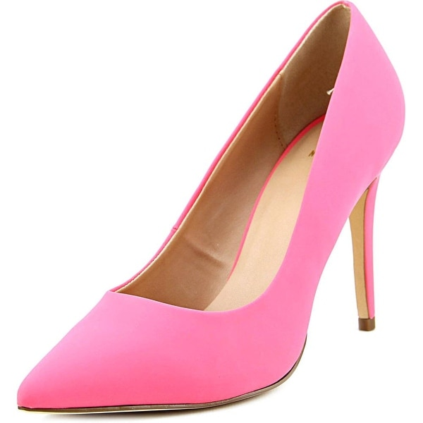 Mix No 6 Lill Women Pointed Toe Synthetic Pink Heels