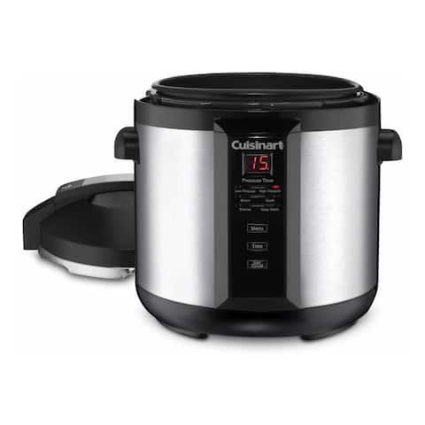 Cuisinart CPC-600N1 6-Quart Electric Pressure Cooker Silver