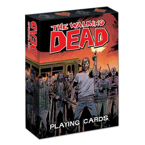 Playing Cards: The Walking Dead - multi
