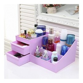 Drawer Type Organizer Comestics Sotrage Box 3126 XL purple