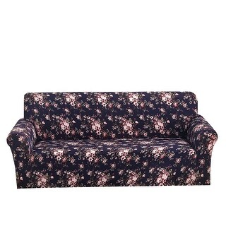 Rose Pattern L-Shaped Stretch Sofa Covers Couch Slipcovers for 1 2 3 Seater