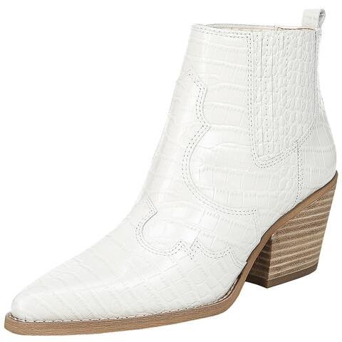 Sam Edelman Womens Winona Ankle Boots Leather