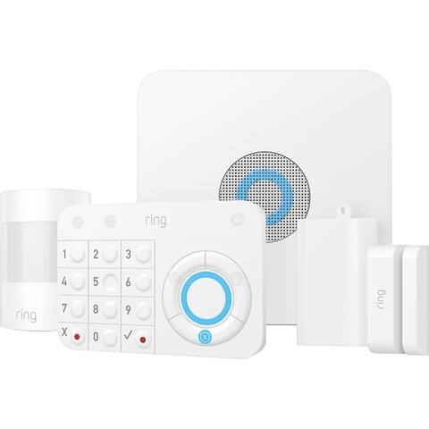 Ring - Alarm Home Security Kit - White