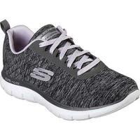 Skechers Women's Flex Appeal 2.0 Training Sneaker Black/Lavender