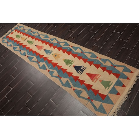 """Antique Turkman Hand Knotted Wool Persian Oriental Area Rug (3'6""""x4'6"""") - 3' x 4'7"""""""