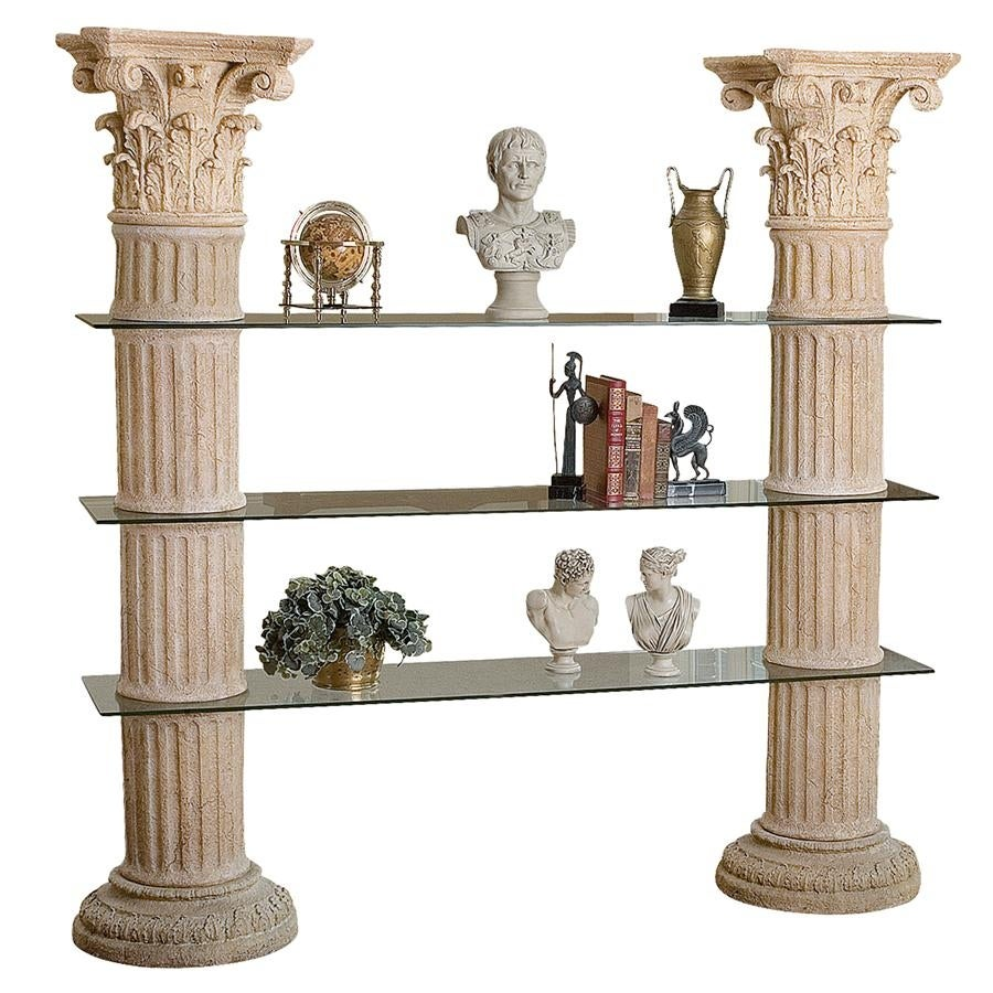 Exceptionnel Shop Columns Of Corinth Shelves DESIGN TOSCANO Furniture Shelves Corinth  Columns   Free Shipping Today   Overstock   20992430