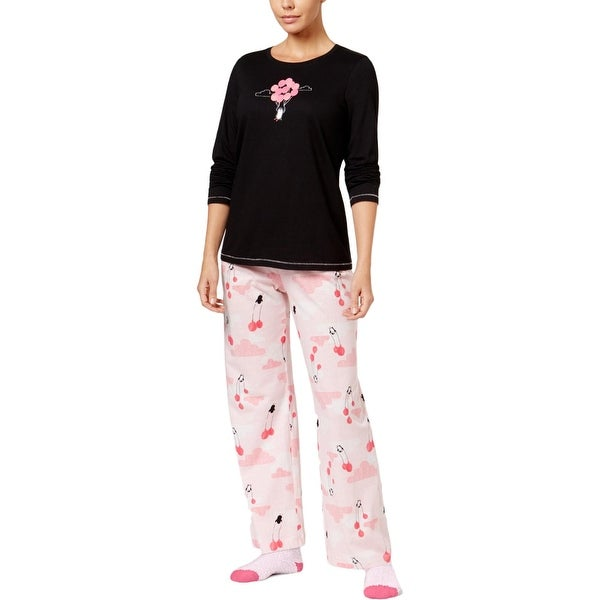 59ec12722ac2 Shop Hue Womens Penguin Pajama Set Graphic Pants - M - Free Shipping On  Orders Over  45 - Overstock - 19814415