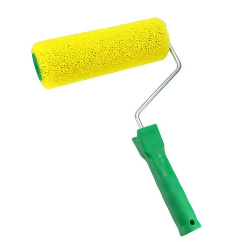 "8Inch Home Wall Sponge Paint Roller Painting Brush Cover Fame Kit-Maximal Coarse - 8"" max coarse - 8"" Max Coarse"