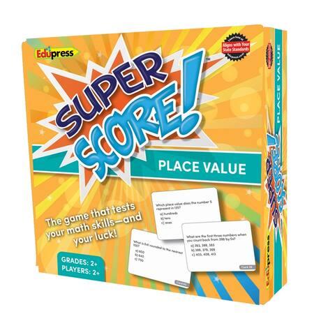 Edupress super score place value gr 2-3 2084