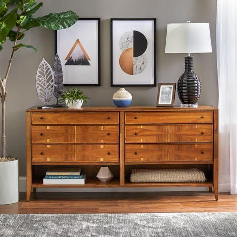 Lifestorey Monty 6-Drawer Dresser