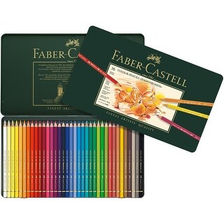 Polychromos Colored Pencil Set In Metal Tin 36pc-