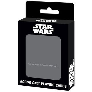 Star Wars Rogue One Card Deck