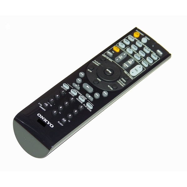 OEM Onkyo Remote Control Originally Shipped With: TXSR607, TX-SR607, TXSR607D, TX-SR607D
