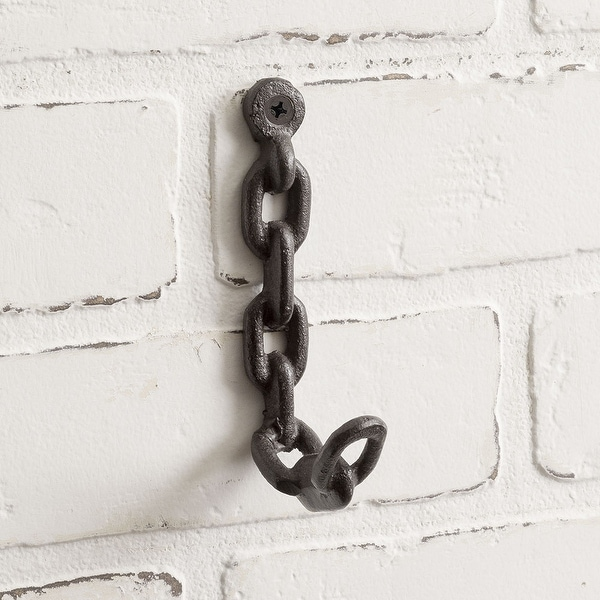 Chain Wall Hook - Pack of 4