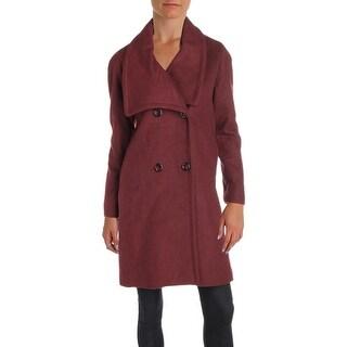 Jones New York Womens Petites Pea Coat Winter Wool - 10P