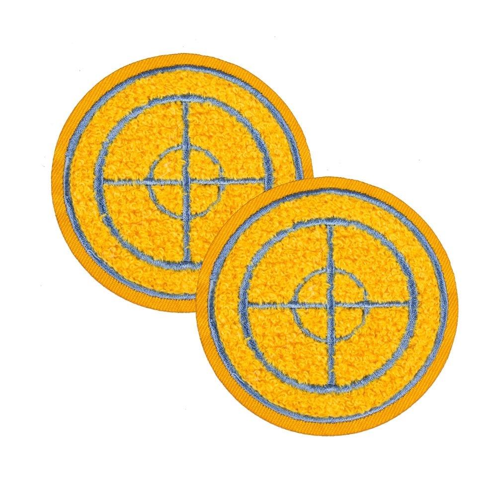 Shop Team Fortress 2 Sniper Patches Set Of 2 Team Blu Black