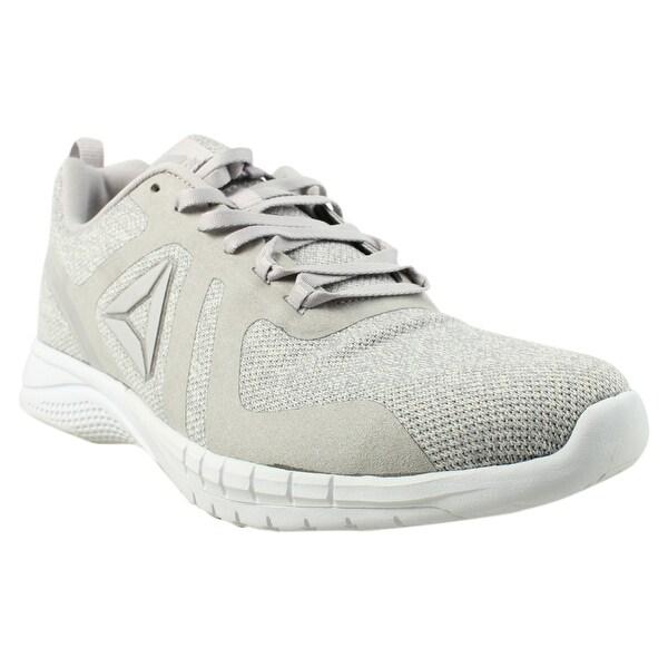 713bafc45 Shop Reebok Womens Rbk Print Run 2.0 Cr White Running Shoes Size 9.5 ...