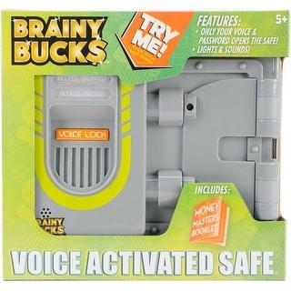 Brainy Bucks Voice Activated Safe -