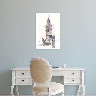 Easy Art Prints Melissa Wang's 'View of Eiffel IV' Premium Canvas Art