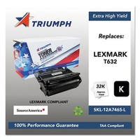 Triumph Remanufactured T632 Toner Cartridge - Black Toner Catridge