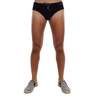 Dolce & Gabbana Black Logo Beachwear Briefs - S