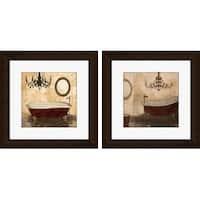 PTM Images 1-17010 Vintage Bathroom Wall Art (Set of 2) - N/A