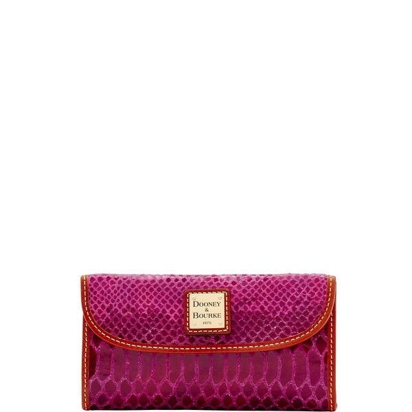 Dooney & Bourke Snake Continental Clutch (Introduced by Dooney & Bourke at $128 in Oct 2016)