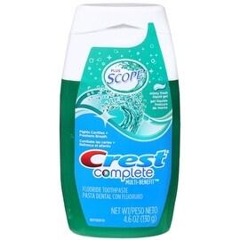 Crest Plus Scope Toothpaste Liquid Gel Minty Fresh 4.60 oz