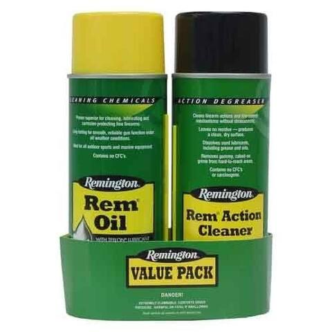 Remington 18154 rem rem-oil & rem action cleaner 2-pack combo