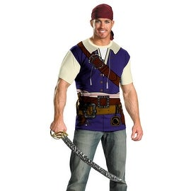 Jack Sparrow Pirates Of The Caribbean Costume L/XL (40-46)