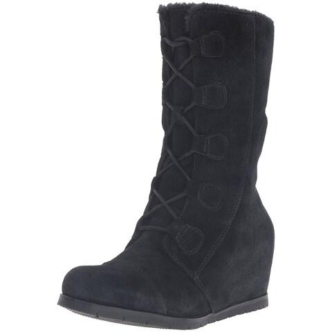 Bare Traps Womens Brinda Leather Closed Toe Mid-Calf Fashion Boots