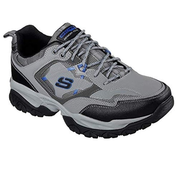 57178137438a Shop Skechers Sparta 2.0 Tr Mens Sneakers Gray/Blue 12 W - Free Shipping  Today - Overstock - 25973384