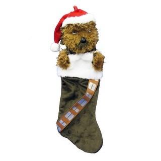 """Star Wars 20"""" Chewbacca Plush Head Stocking"""
