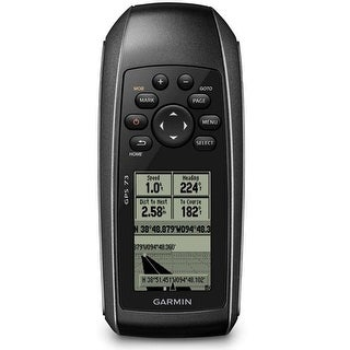 "Garmin GPS 73 Lightweight Waterproof handheld 1.4"" x 2.1"" 4 Level Gray LCD Display"