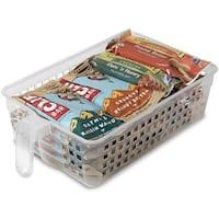 Perfect Pantry 52048 Polypropylene Handy Basket, Medium, Clear