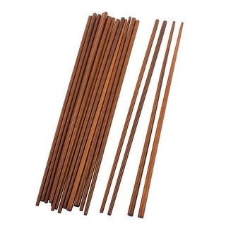 Household Wooden Chinese Traditional Style Chopsticks 16.5 Inch Long 10 Pairs