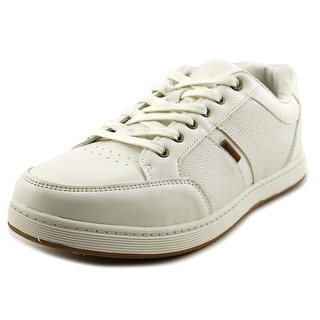 Levi's Gilroy Pebbled Men  Round Toe Synthetic Ivory Sneakers