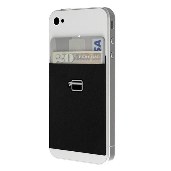cheap for discount c40db 784cf CardNinja Smartphone Flexible Wallet Card Holder - Black