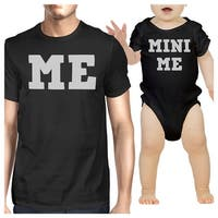 Mini Me Dad and Baby Matching Outfits Infant Bodysuit New Dad Gift