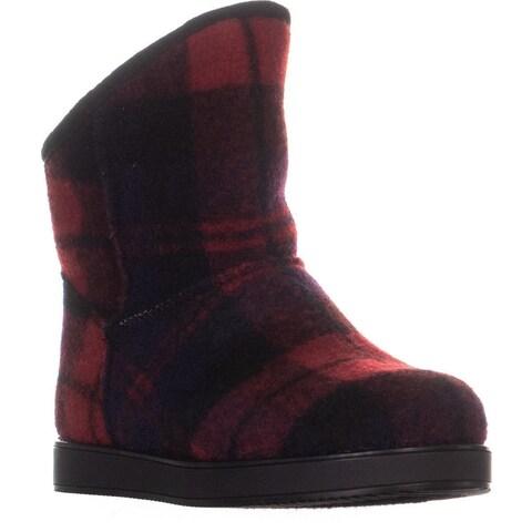 Indigo Rd. Aylee Pull On Snow Boots, Dark Red